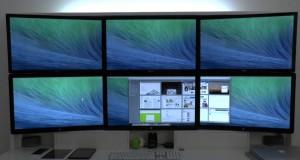 Kako prikazati sliku na više monitora