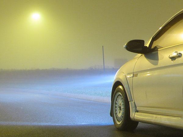 kako voziti nocu maglenke
