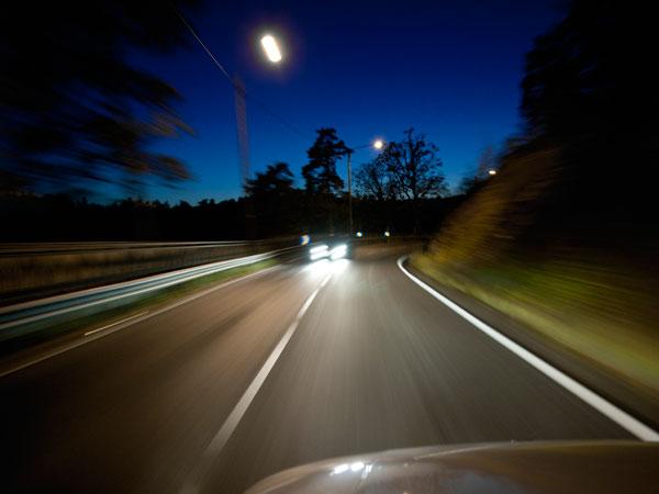 kako voziti nocu svjetla