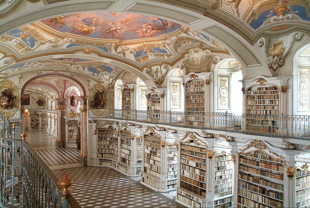 Admont Abbey Library, Admont, Austria