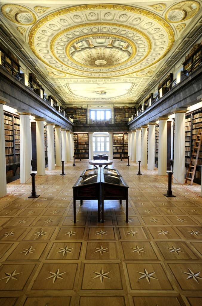 Library of Sárospatak Reformed College, Sárospatak, Hungary
