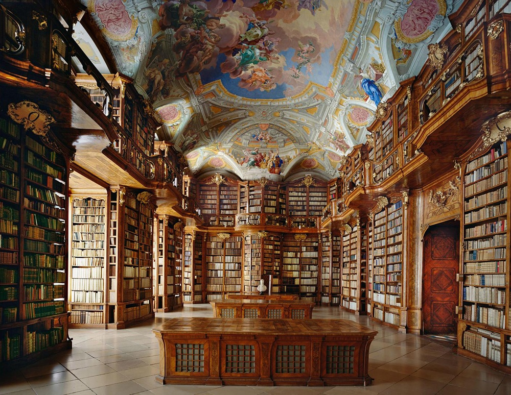 St. Florian Monastery Library, Linz-Land District, Austria