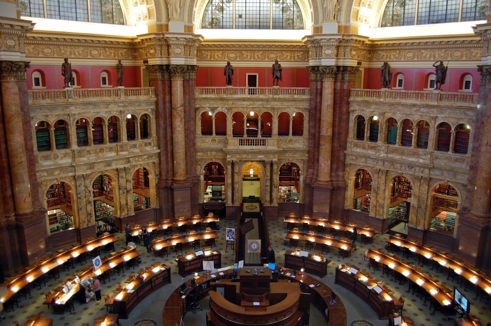 The Library of Congress, Washington, USA