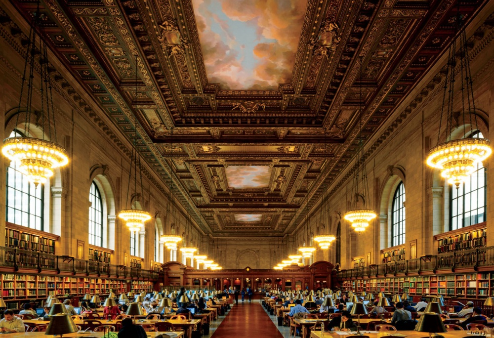 The New York Public Library, New York, USA