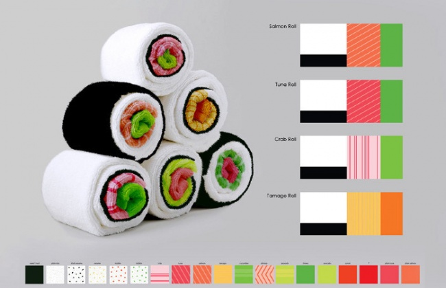 sushi peskir