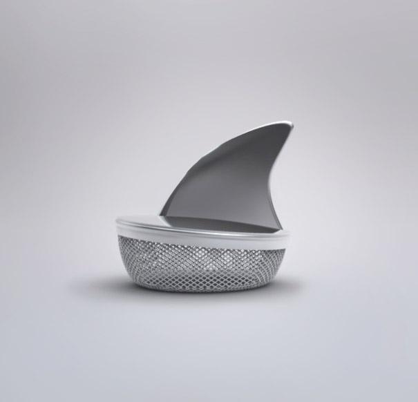 kuhinjski dodaci - ajkula držač za čaj