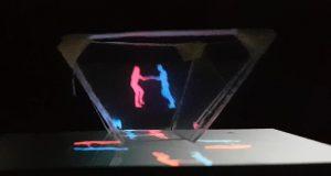 Kako telefon pretvoriti u hologram projektor