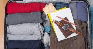 kako spakovati stvari u torbu
