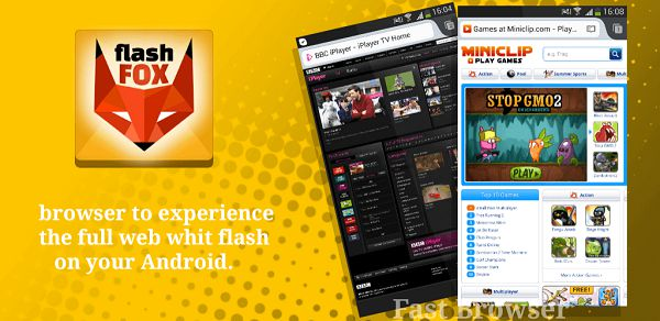 Flash player na Android