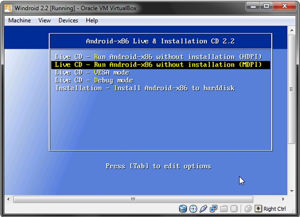 Android-2.2-Live-cd