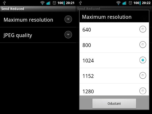Kako smanjiti rezoluciju fotografija na Android uređaju