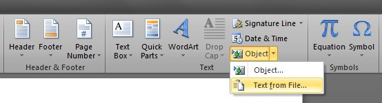 Word-Text-from-file