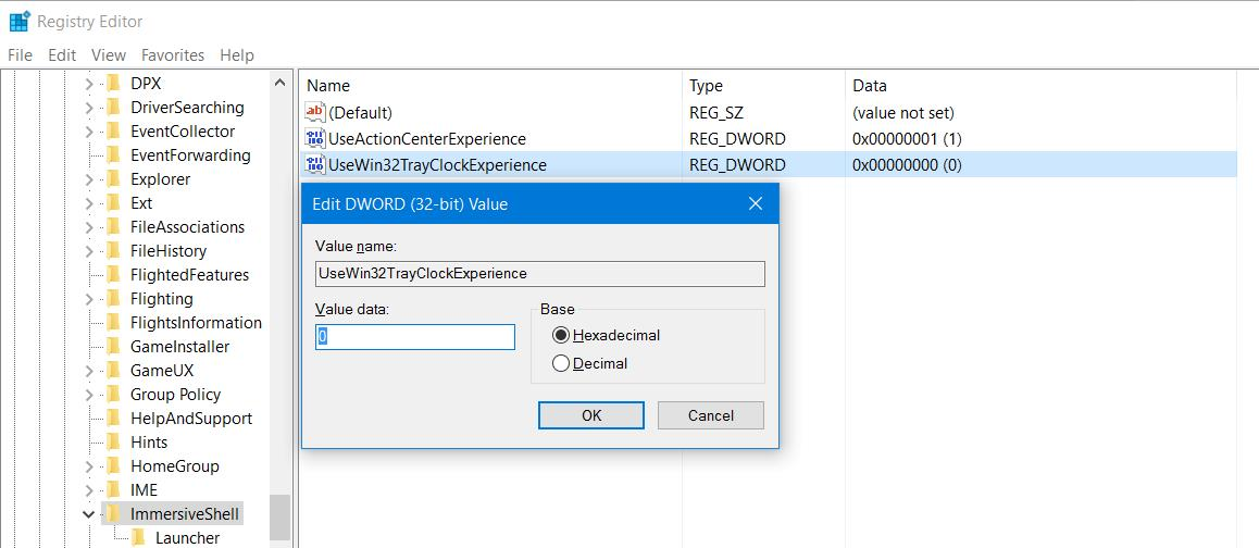 Analogni sat - Windows 10