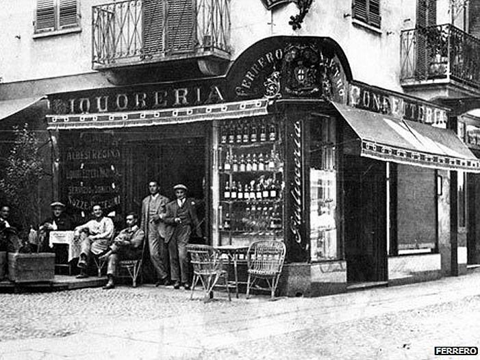 Ferrero prva prodavnica