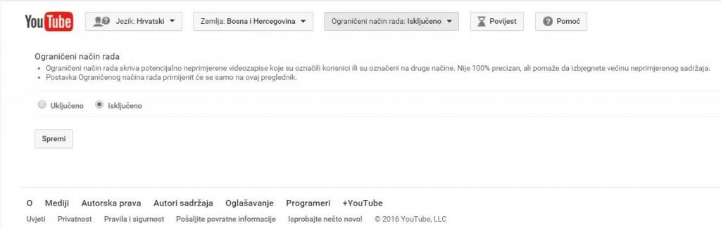 Kako youtube