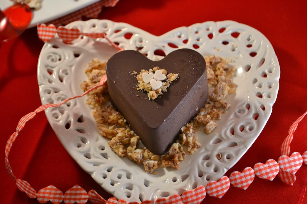 Kolač čokoladna srculenca
