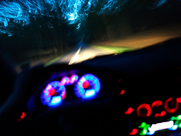 kako voziti nocu kontrolna tabla