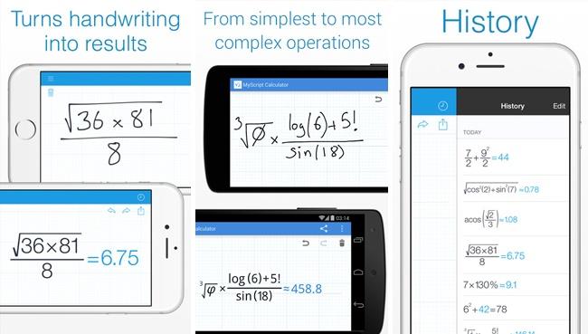 my script calculator aplikacija