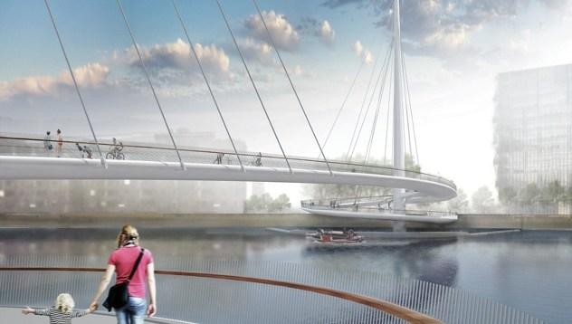 Mostovi budućnosti - Most Nine Elms (London, Velika Britanija)