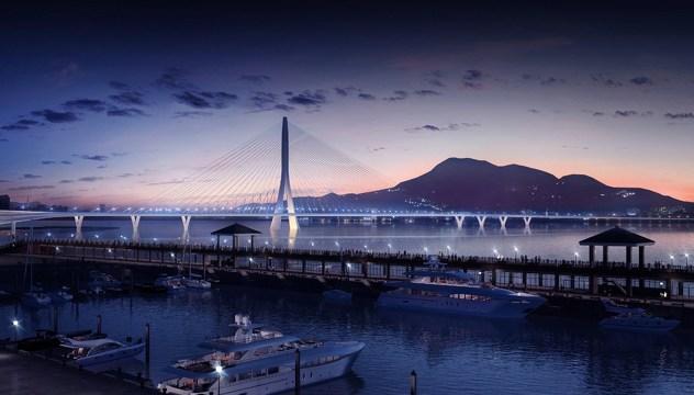 Mostovi budućnosti - Danjiang (Taipei, Tajvan)