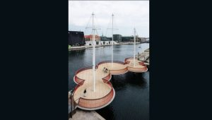 Mostovi budućnosti - Cirkelbroen (Kopenhagen, Danska)