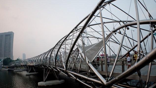 Mostovi budućnosti - Most Helix (Singapur)
