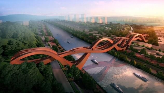 Mostovi budućnosti - Lucky Knot (Changsha, Kina)