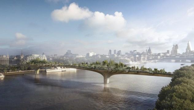Mostovi budućnosti - Most Garden (London, Velika Britanija)