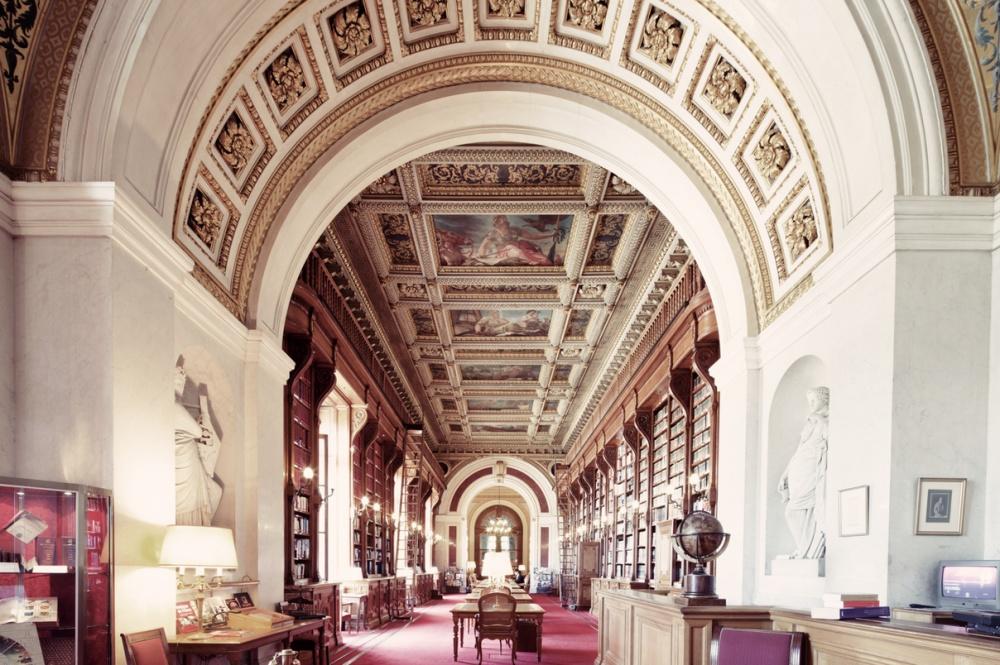 French Senate Library, Paris, France