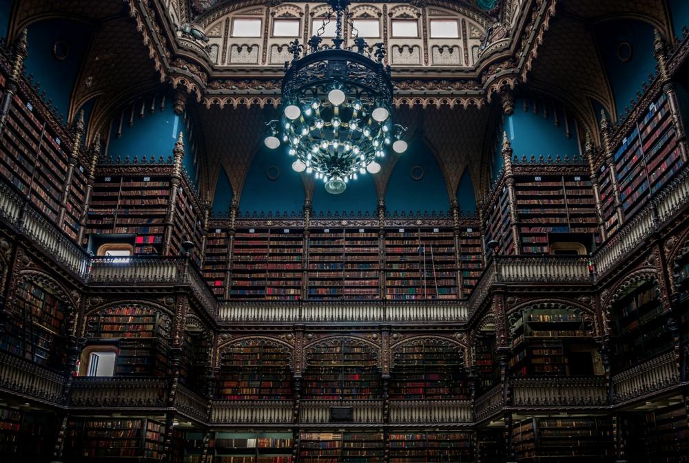 The Royal Portuguese Library, Rio de Janeiro, Brazil