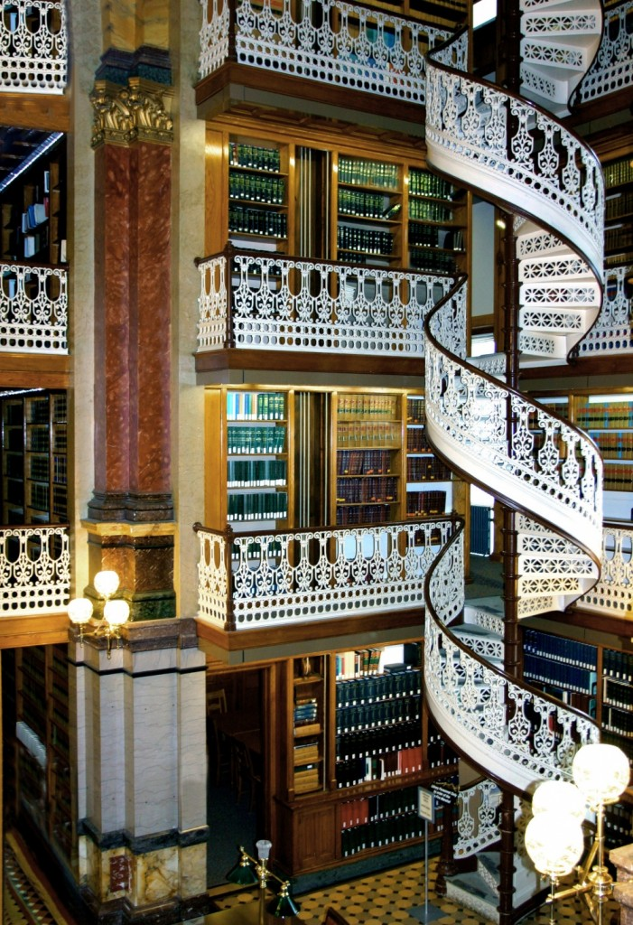 University of Iowa Law Library, Des Moines, USA