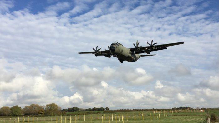 C-130 Hercules - Sadnja drveća iz zraka
