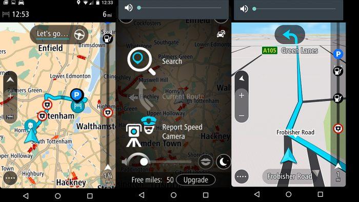 besplatne navigacione aplikacije - TomTom