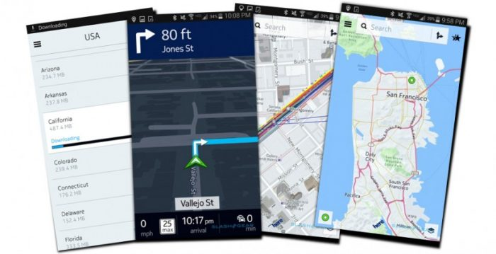 besplatne navigacione aplikacije - here maps