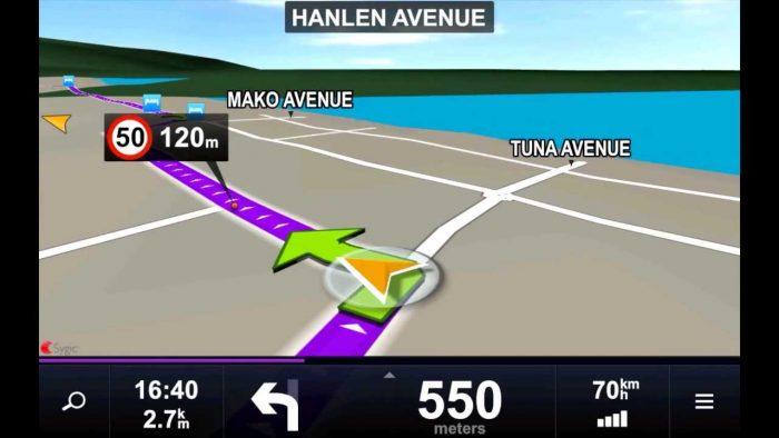 besplatne navigacione aplikacije - maps sygic