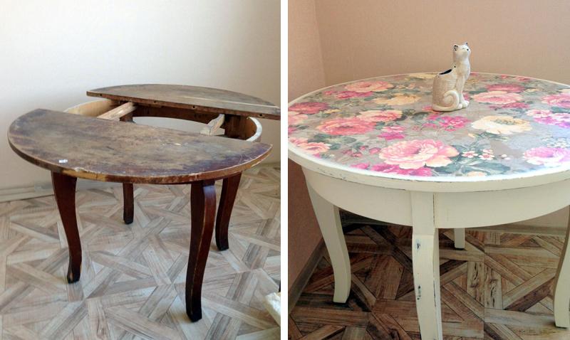 Ideje za restauraciju - stol