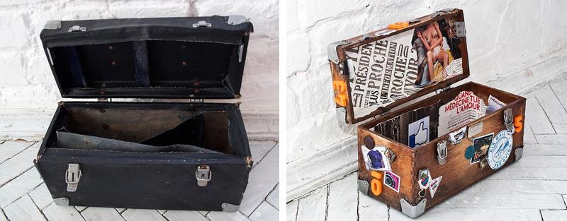 Ideje za restauraciju - kutija / kofer
