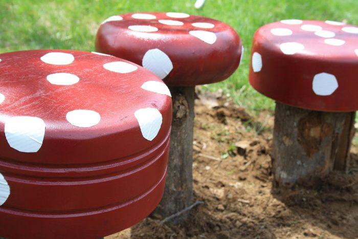 Stolice u obliku gljiva