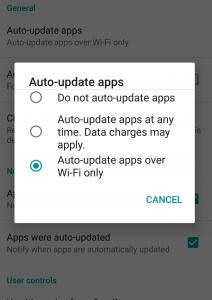 automatsko ažuriranje aplikacija