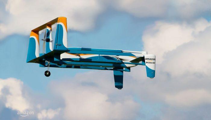dostavio paket dronom