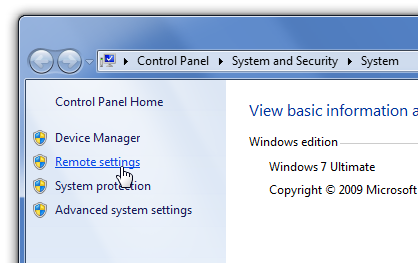 Kako dozvoliti Remote Desktop konekciju - Windows 7