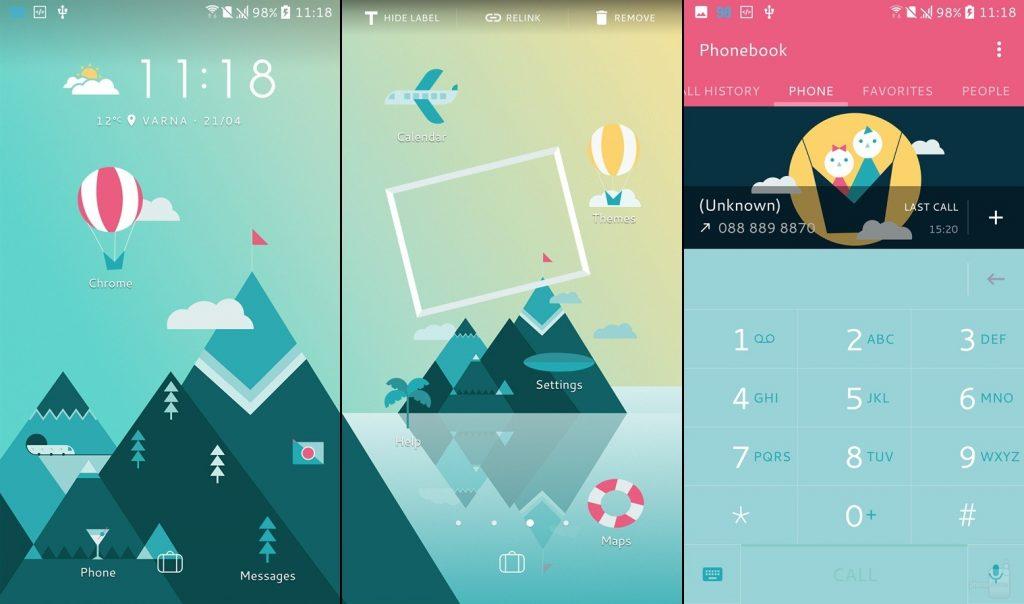 HTC 10 telefon