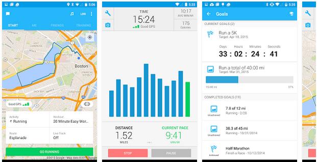 Android aplikacije za treniranje