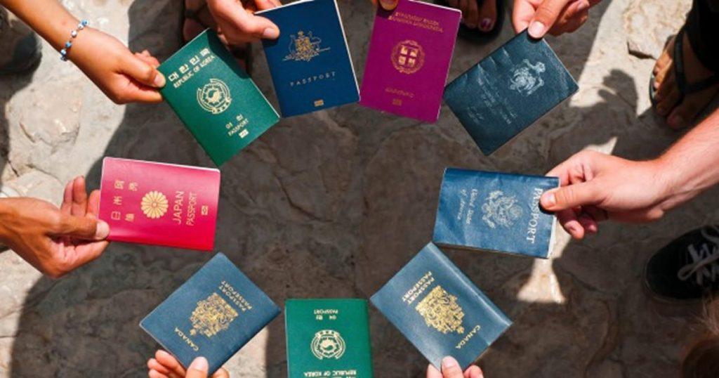 4 boje pasoša