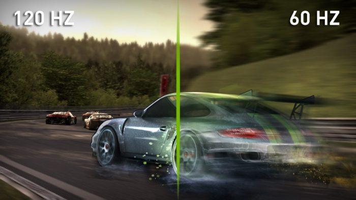 Refresh rate kod TVa motion blur