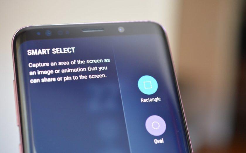 Kako uslikati ekran na Samsung S9 i S9 Plus - edge panel