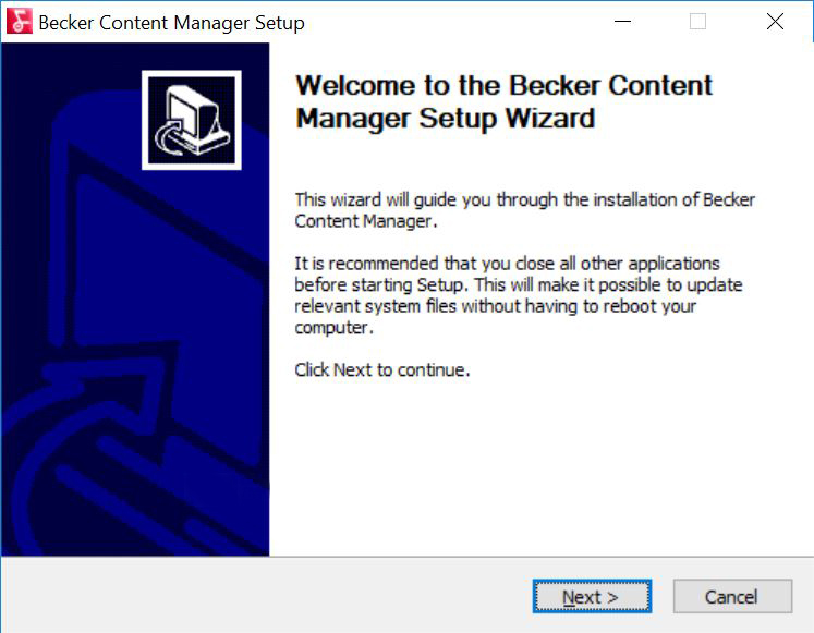 Kako uraditi update Becker navigacije