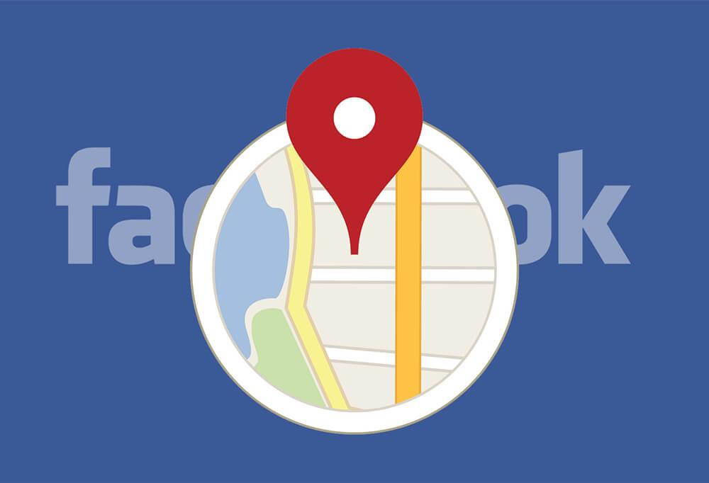 lokacije na Facebooku